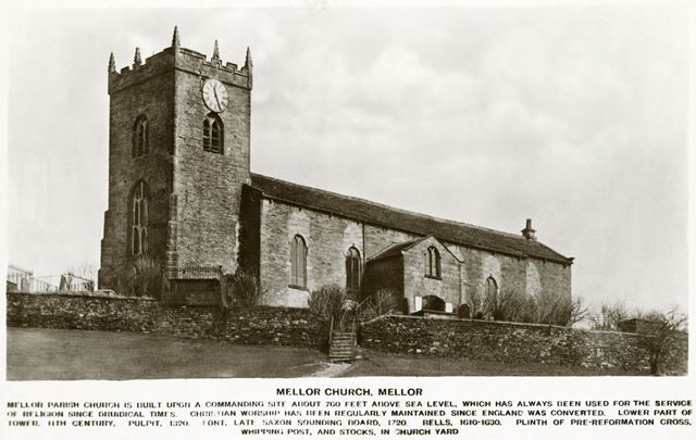 Mellor Parish Church, Mellor