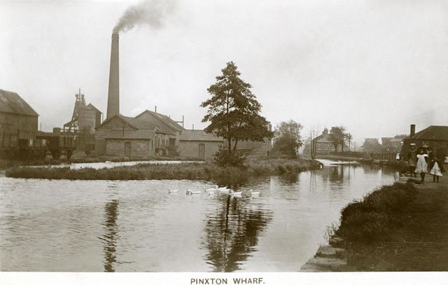 Pinxton Wharf and Colliery