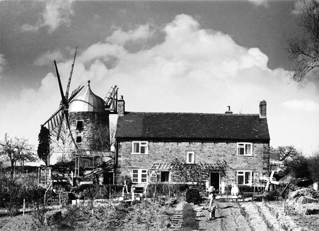 Heage Tower Windmill, Nether Heage, c 1970s