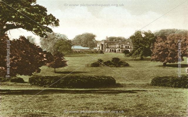 Ogston Hall, near Ashover
