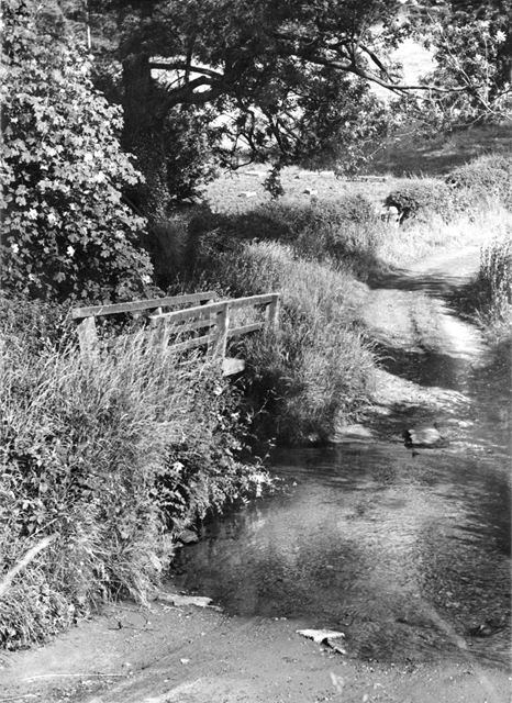 The Ford on Blackbrook, near Muggington, c 1940s ?