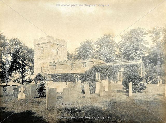 All Saints' Church, Bradbourne