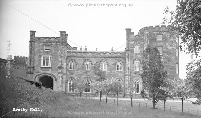 Bretby Hall, Bretby