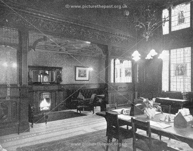 Smedley's Hydro - A Corner of the Smoke Room