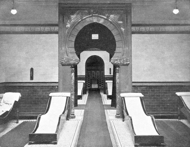 Smedley's Hydro - The Gentlemens' Turkish Baths