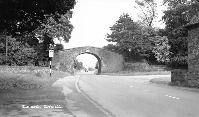 'The Arch', Tramway Bridge, Ticknall