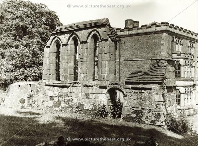 Stydd Hall Preceptory, Yeaveley, c 1935