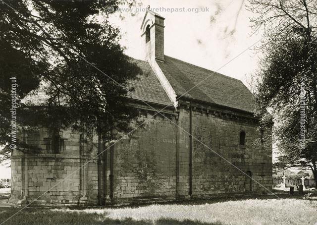 Steetley All Saints' Chapel, Scratta lane, Steetley, c 1900
