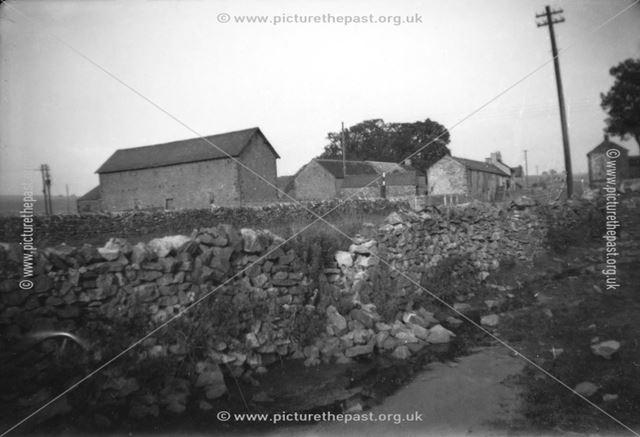Group of buildings at Wardlow Mires