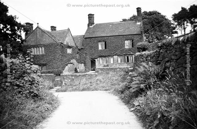 Hazelford Hall, Leadmill Bridge Lane, Hathersage, c 1930s - 40s