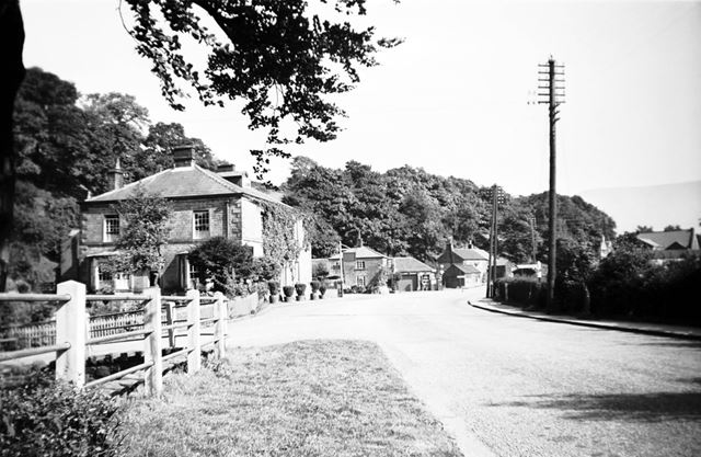 Ashopton Village and the Ashopton Inn