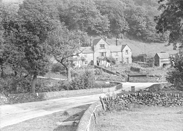 Cottages at Wakebridge, near Crich