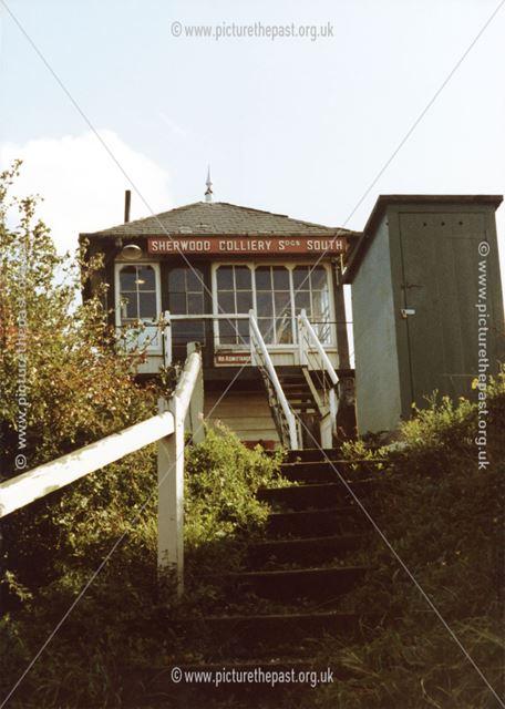 Sherwood Colliery Sidings South Signal Box
