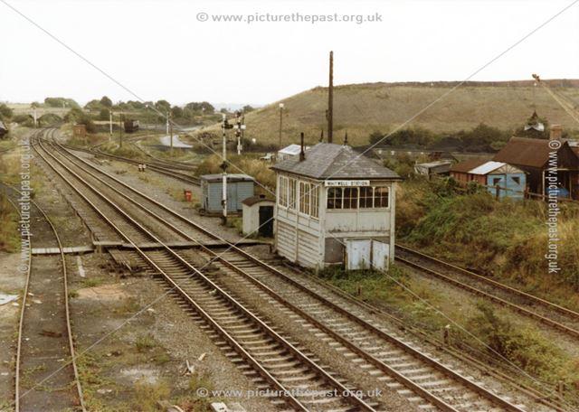 Whitwell Station Signal Box