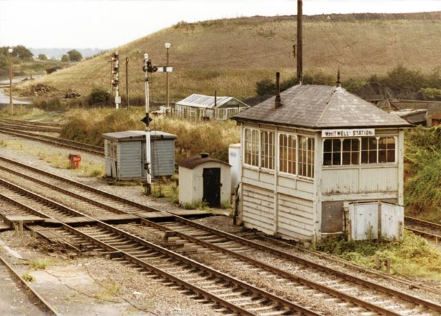 Whitwell Station Signal Box