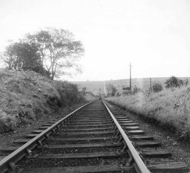 The Cromford and High Peak Railway - Looking down the Hopton Incline