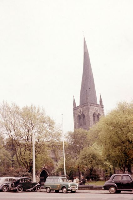 The Crooked Spire of St Mary's and All Saints' Chesterfield Parish Church