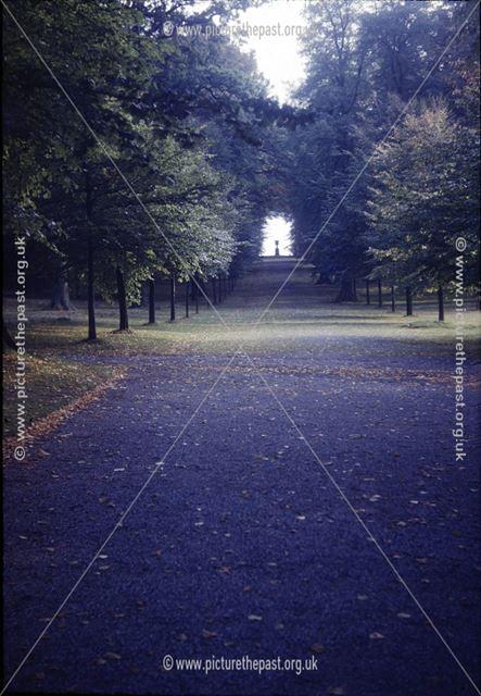 Chatsworth House park gardens