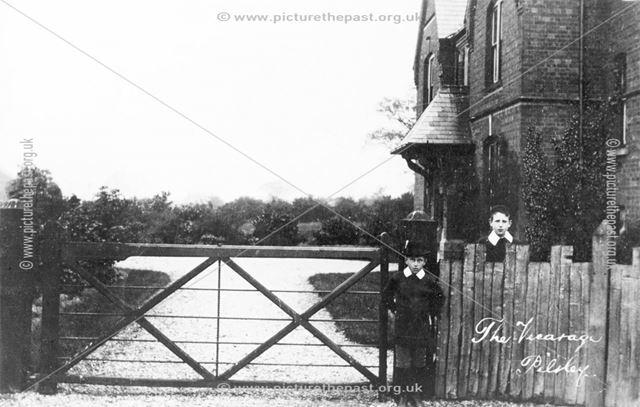 Vicarage, Pilsley, 1906