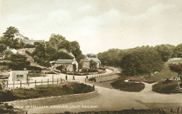Ashover Light Railway at Fallgate