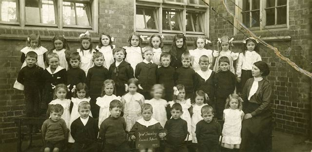 New Sawley Council Infants School, 1912