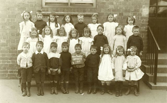 New Sawley Infant School class, 1911