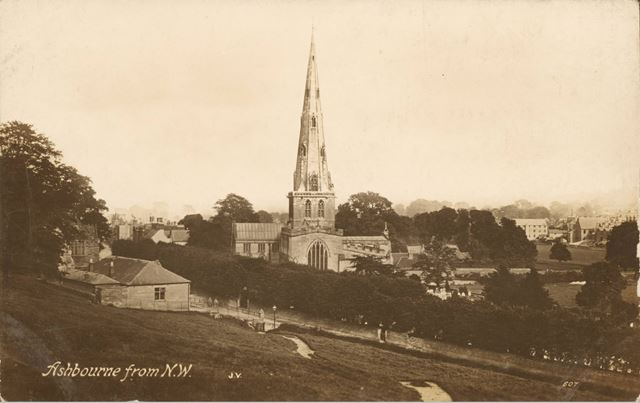 Ashbourne from the North West