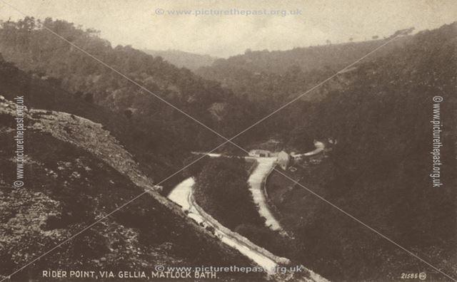 Rider Pont, Via Gellia, Middleton by Wirksworth, 1930