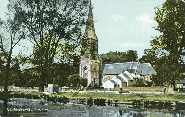 St Andrew's Church, Thorpe (near Norwich), c 1900s-1930s