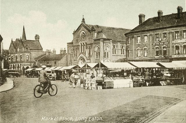 Market day at Long Eaton