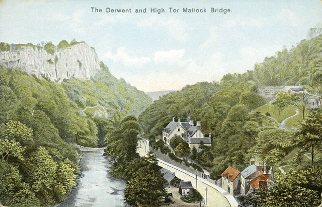 The River Derwent and High Tor, Matlock Bath
