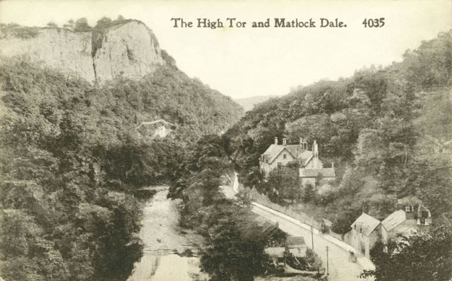 The River Derwent and High Tor, Matlock Dale