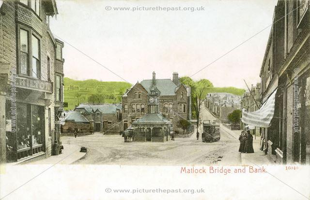 Matlock Bridge and Bank