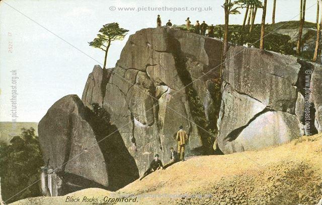 Black Rocks, Cromford, c 1910