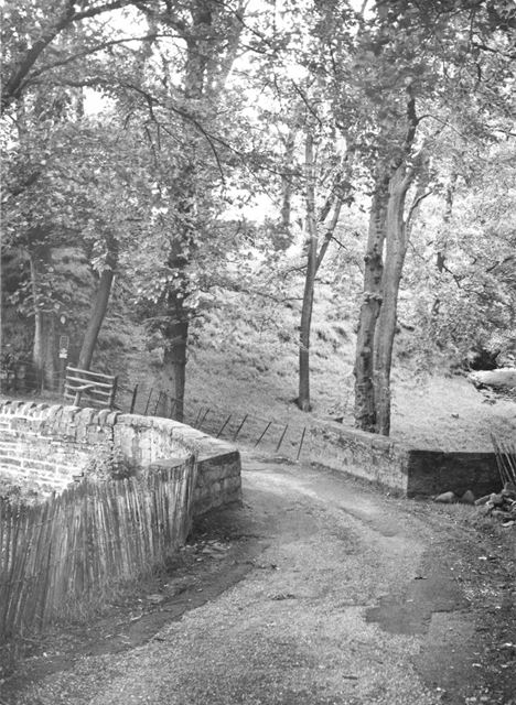 The road over Crowden Brook, Upper Booth