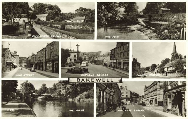 Composite - Pack Horse Bridge, The Weir, King Street, Rutland Square, Church Street, The River and M