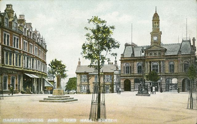Market Cross and Town Hall
