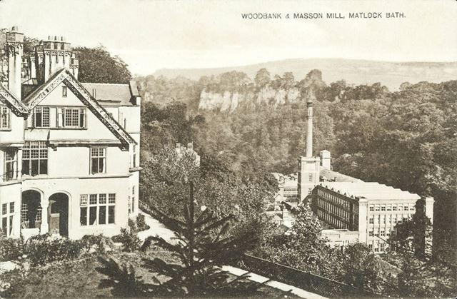 Woodbank and Masson Mill