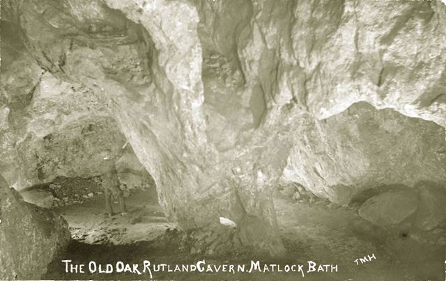 Old Oak Rutland Cavern, Matlock Bath, c 1920