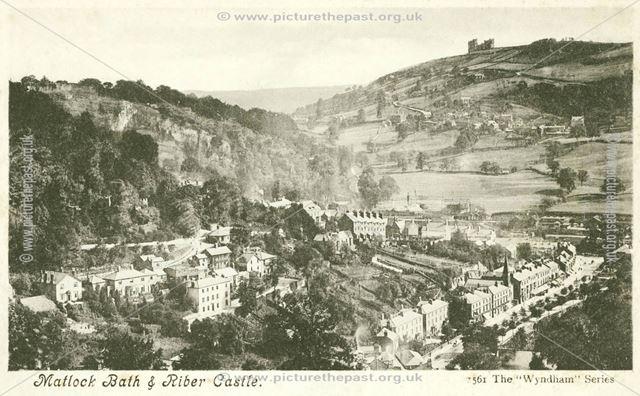 Matlock Bath and Riber Castle