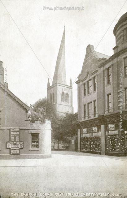 Chesterfield Parish Church (Crooked spire)