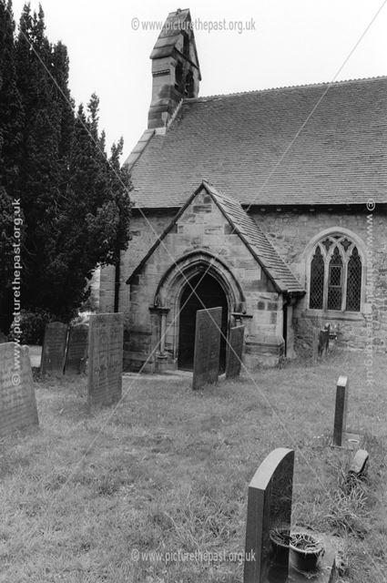 St Michael's Church, Stanton by Bridge