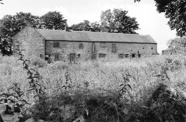 Derelict Farm buildings, Ible