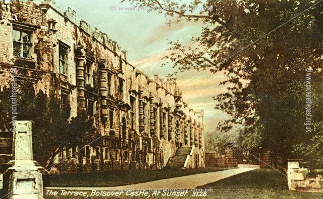 Bolsover Castle - Terrace