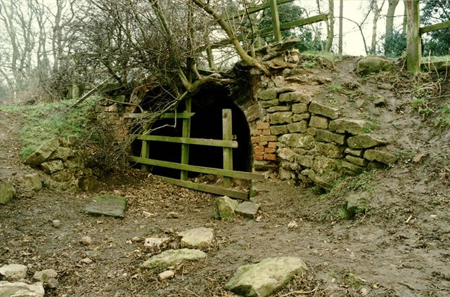 West end portal of the old Outram Canal tramway tunnel