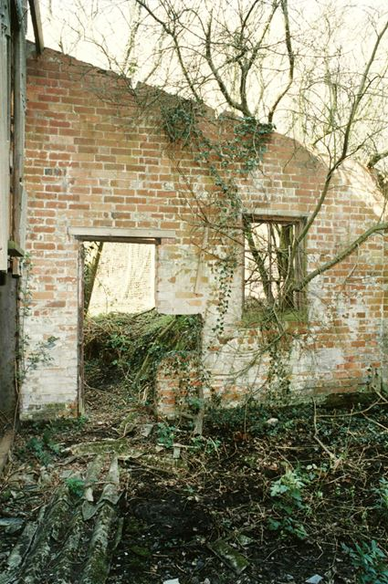 Remnants of old quarry engine sheds