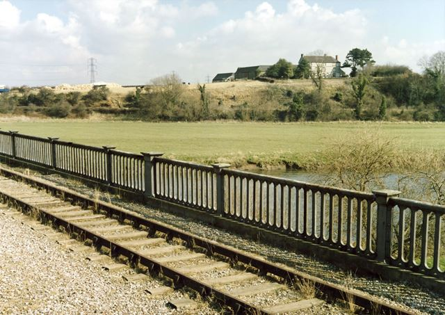 Former Derby to Melbourne and Ashby railway viaduct