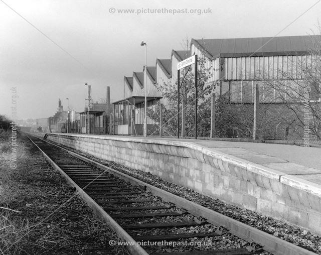Sinfin Central Railway Station