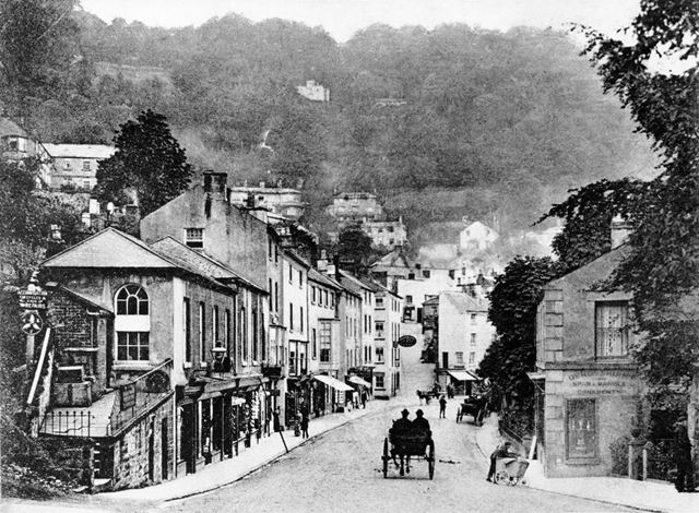 View of South Parade, Matlock Bath