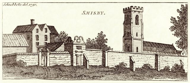 St James' Church, Smisby, 1790